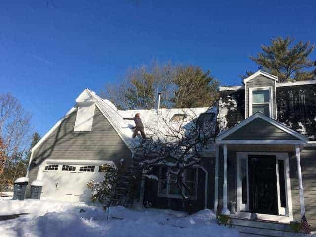 Snow Removal Flynn Roofing
